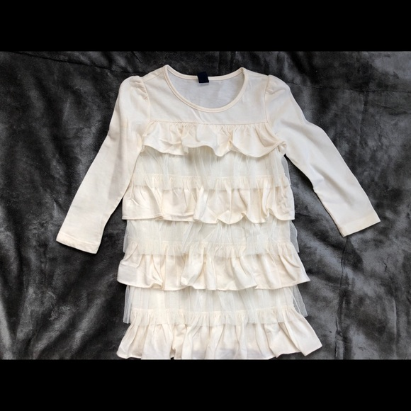 GAP Other - Baby Gap ruffled cream colored blouse 3T